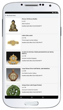 LiveAuctioneers Android app