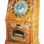 Caille Venus quarter slot machine with music, one of only four known and the best example of the four (est. $250,000).
