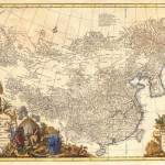 This important atlas of China with 42 maps, executed in 1737 by the French cartographer Jean Baptiste Bourguignon d'Anville, is the expected top lot at Auction #125, Sept. 10-24 (est. $14,000-$18,000).