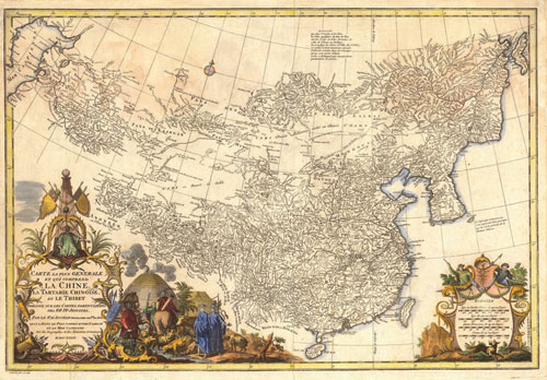 Rare 18th century atlas of china in old worlds sept 10 24 online sale gumiabroncs Choice Image