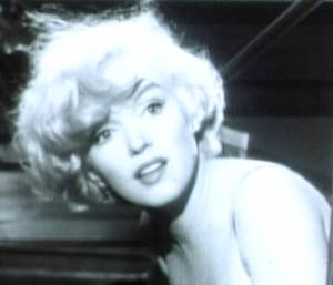 Marylin Monroe, from Some Like It Hot trailer. Image courtesy Wikipedia.