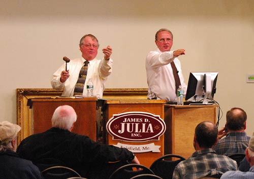James D. Julia auctions the record-setting pistol at his sale Oct. 7. Image courtesy James. D. Julia Auctions.