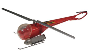The popular 1950s Swadar Bell 47 with litters was one of several versions made. G.R. Webster Collection.