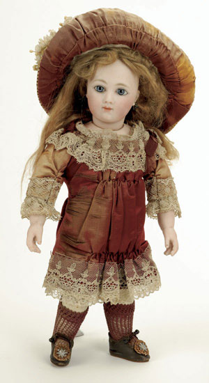 Circa-1880 Thullier bebe. Courtesy LiveAuctioneers Archive and Noel Barrett Auctions.
