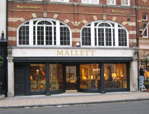 Mallett's Bond Street premises will be vacated later this year once a more appropriate London location is found to sell their period furniture. Image ACN.