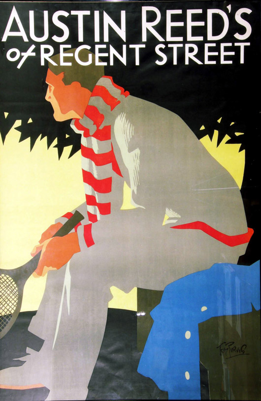 Onslows To Auction Austin Reed Poster Collection Iconic British Ad Images