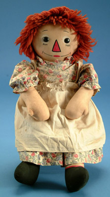 Image courtesy LiveAuctioneers Archive/Village Doll & Toy Shop.