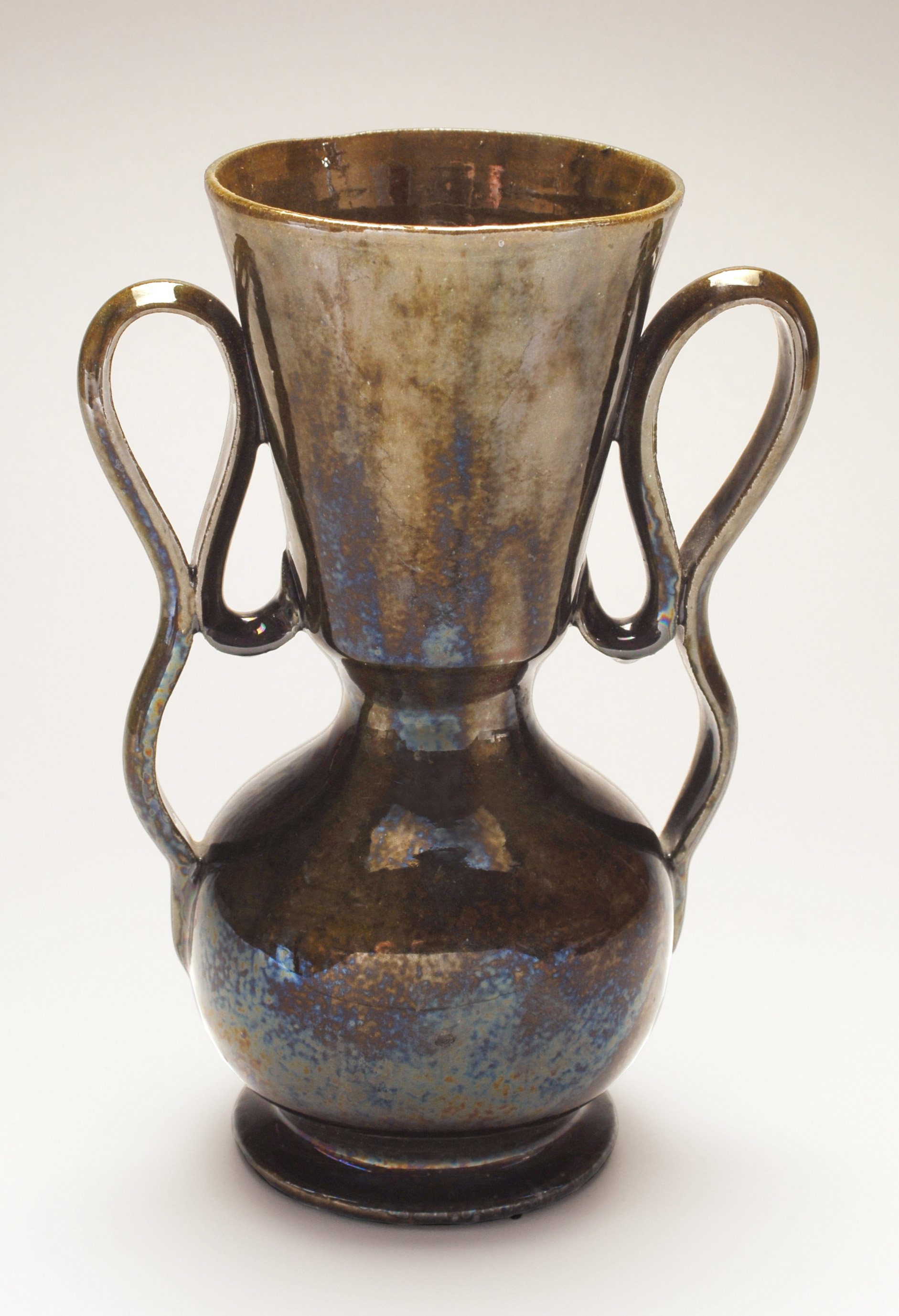 George ohr pottery method in his madness double handled vase c 1898 glazed ceramic 7 34in reviewsmspy