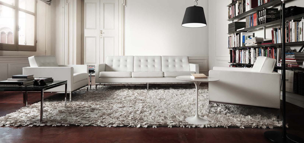 A Classic Knoll Living Room. Courtesy Knoll International.