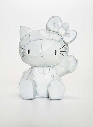 Hello Kitty, 2001, bronze, by Tom Sachs. Estimate $20,000-$30,000. Courtesy Phillips de Pury & Co.