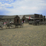 Trail Town, Cody, Wyoming. Image by Billy Hathorn, via Wikipedia.