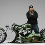 The Smackdown, 2006, from Tommy Graves Customs, Jeffersonville, Vt. On loan from Tommy and Julie Graves to the Full Throttle: Vintage Motorcycles, Custom Choppers and Racing Machines exhibition at the Shelburne Museum, May 17 through Oct. 25, 2009. Image courtesy Shelburne Museum.