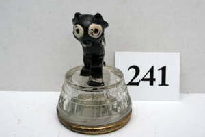 Otto Messmer's comic character Felix the Cat will be one of the stars at Old Barn Auction's candy container auction. Image courtesy Old Barn Auction.