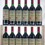 Twelve bottles of 1989 Petrus topped prices realized in Bloomsbury's New York Fine Wine debut, selling to a LiveAuctioneers bidder for $26,290. Image courtesy LiveAuctioneers.com Archive and Bloomsbury Auctions.