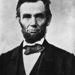 Abraham Lincoln's signature is on a memo written in 1862. How the document came to be in the state archives of Hawaii remains a mystery. Image courtesy Wikipedia Commons.