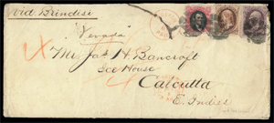 1870s Lincoln stamp: stolen, found, auctioned for $431,250