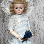 Kammer & Reinhardt Mein Liebling mold 117 doll, 30 inches, estimate $5,000-$7,000. Image courtesy LiveAuctioneers.com/Frasher's Doll Auctions.