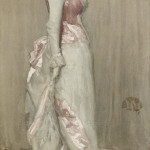 James Abbott McNeill Whistler (1834–1903) Harmony in Pink and Grey: Portrait of Lady Meux, 1881–82. Oil on canvas 76 x 36 5/8 inches. The Frick Collection, New York. Photo: Michael Bodycomb.