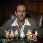Walt Disney appeared in a 1937 theatrical trailer for his animated feature 'Snow White and the Seven Dwarfts.' Image courtesy Wikimedia Commons.