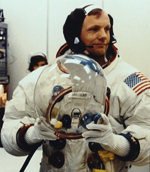 Neil Armstrong in 1969. Courtesy of RR Auction.
