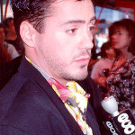 Robert Downey Jr., shown here at the 1990 premiere of Air America, is among the many film stars who turn out for the annual San Diego Comic-Con. Photo by Alan Light.