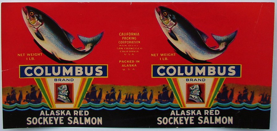 salmon labels are a prize catch from the great northwest