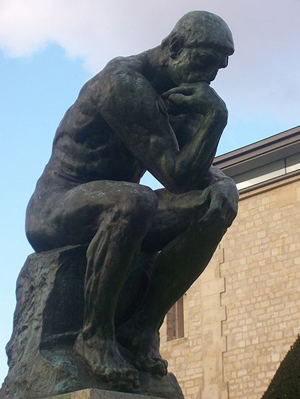 rodin s sculpture the thinker in temporary new philly home