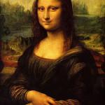 Mona Lisa, or La Giaconda, painted 1503-1505 by Leonardo da Vinci.