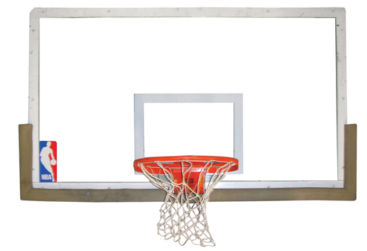 Actual complete backboard and rim from the June 14, 1998 NBA Finals Game no. 6 (Chicago Bulls vs. Utah Jazz) in which Michael Jordan took his last shot as a Chicago Bulls player and won both the game and championship for his team. Reserve: $25,000 reserve.