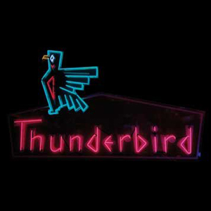 Thunderbird Motel neon sign, sold for $24,000 by RM Auctions on June 11, 2006. Image courtesy LiveAuctioneers.com Archive.
