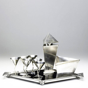 Silver shines at Sollo Rago Real Modern Auction