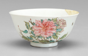 This little Chinese famile rose bowl soared over its humble pre-sale estimate ($150-$300) to become the top lot of the sale. It was purchased from The Chinese Shop in Washington, D.C. in the 1940s by Thomas Williams and sold September 13 for $115,000.