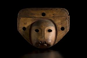 Eskimo seal mask, $88,125. Image courtesy Cowan's Auctions.