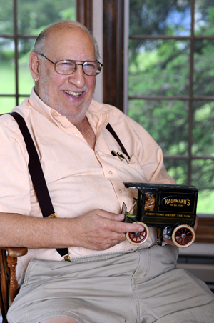 In Memoriam: Donald Kaufman, K-B Toys co-founder, antique toy collector