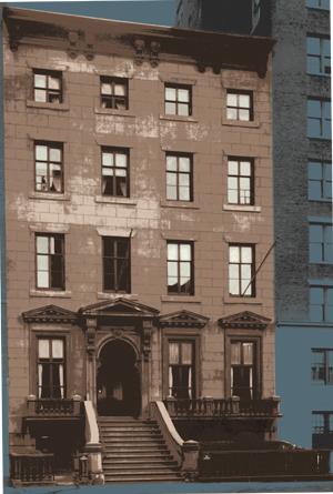 Historic photo of the Manhattan art institution The Salmagundi Club. Image courtesy The Salmagundi Club.