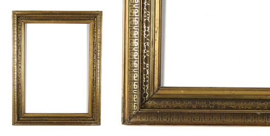 American late-Victorian frame. Image courtesy Leslie Hindman Auctioneers.