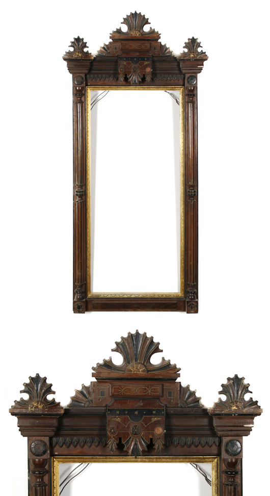 American mirror frame, circa 1900. Image courtesy Leslie Hindman Auctioneers.