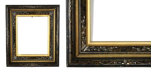 American Eastlake frame. Image courtesy Leslie Hindman Auctioneers.