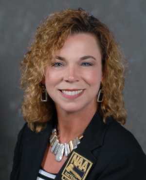 Christie King, first VP of the National Auctioneers Association. Image courtesy NAA.