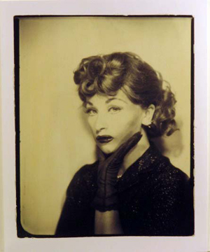 Cindy Sherman became Lucille Ball in this silver gelatin print dated 1975/2001. Image courtesy Wittlin & Serfer Auctioneers and Live Auctioneers Archive.