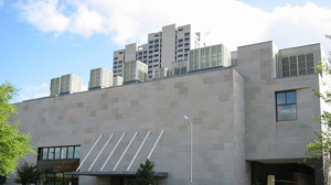 Audrey Jones Beck Building - Museum of Fine Arts, Houston. Photo by Judson Dunn, courtesy Wikimedia Commons.