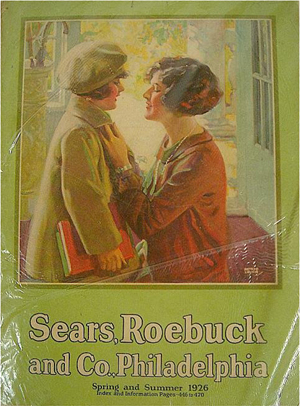 Vintage Sears Roebuck Christmas catalogs find buyers online