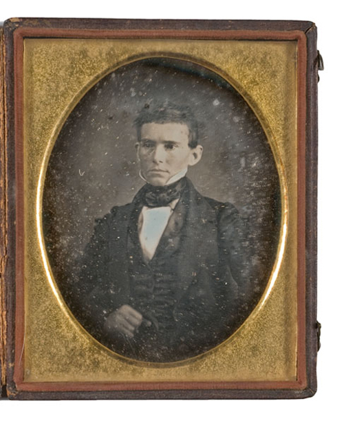 An unpublished photograph album of Alexander Stephens, Vice President of the Confederacy, including a tintype of his slave Pearce, est. $10/15,000