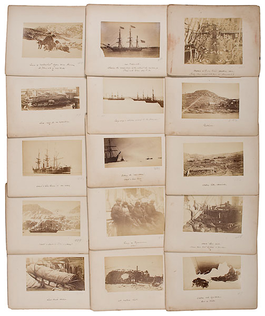 Greely Expedition Photograph Collection, estimated to sell for $10/15,000