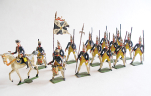 Rare German military figures led Old Toy Soldier Auctions' Winter Sale