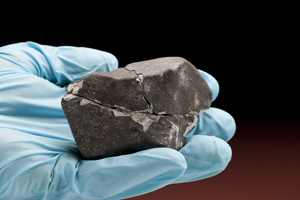 Lorton Meteorite. Photo by Chip Clark, Smithsonian.