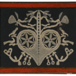 Cowan's Auctions in Cincinnati sold this Pennsylvania cut-work valentine made in the early 1800s for $1,000.
