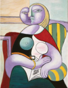 The Reading, 1932, Oil on canvas, 130 x 97.5 cm Pablo Picasso, Spanish, worked in France, 1881-1973 Musée National Picasso, Paris © 2010 Estate of Pablo Picasso / Artists Rights Society (ARS), New York. Photo Credit: R.G. Ojeda / Réunion des Musées Nationaux / Art Resource, New York.