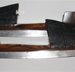 Marsden Brothers of Sheffield, England, made skates similar to these for Queen Victoria and Prince Albert in 1840. Image courtesy of Karen Cameron, Antique Ice Skate Club.