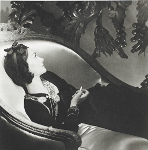 Coco Chanel (1906-1999), photographed by Horst P. Horst in Paris, 1937. This 9 1/2-inch by 9 1/4-inch silver gelatin print, signed in pencil on verso by the photographer, was auctioned by Phillips de Pury on Sept. 16, 2006. Image courtesy LiveAuctioneers.com Archive and Phillips de Pury.